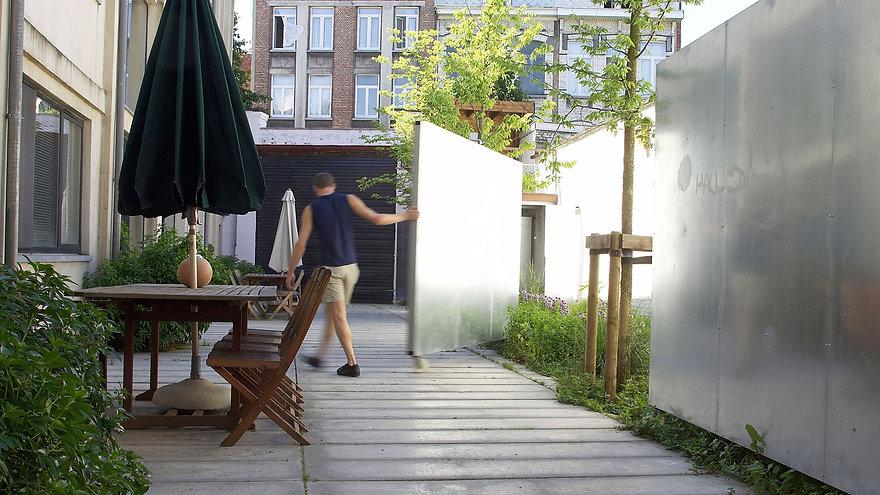 gemeenschappelijke binnentuin tredzone 1