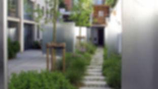 gemeenschappelijke binnentuin tredzone 3