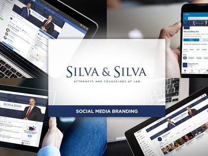Silva & Silva Social Media Branding by Creative Complex