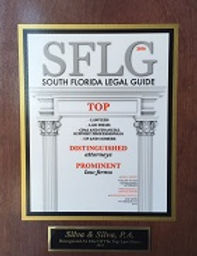 South Florida Legal Guide Plaque