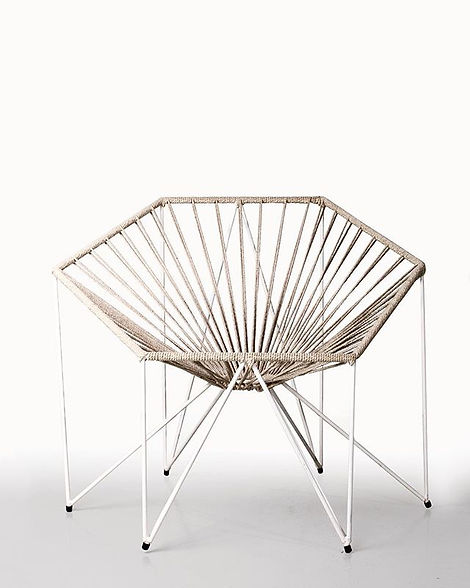 Armchair with #recycled #wire ♻️ _fornat