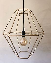 Abajur Hexagonal