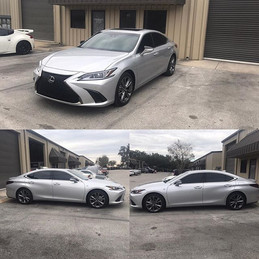 Lexus F Sport _5% Ceramic all around it