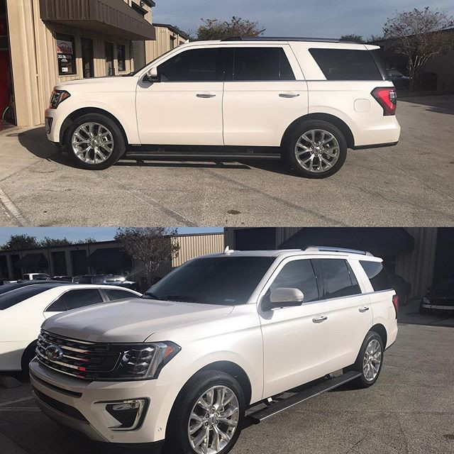 2019 Ford Expedition _20% Ceramic front
