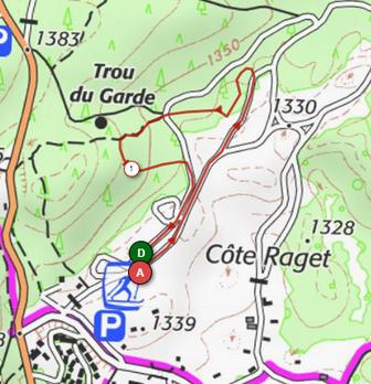 1 Km La Savoyarde Trail.png