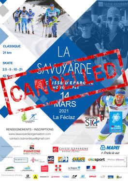 Affiche La Savoyarde Caisse Epargne 2021