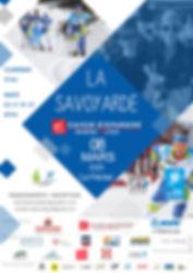 Affiche La Savoyarde Caisse Epargne 2020