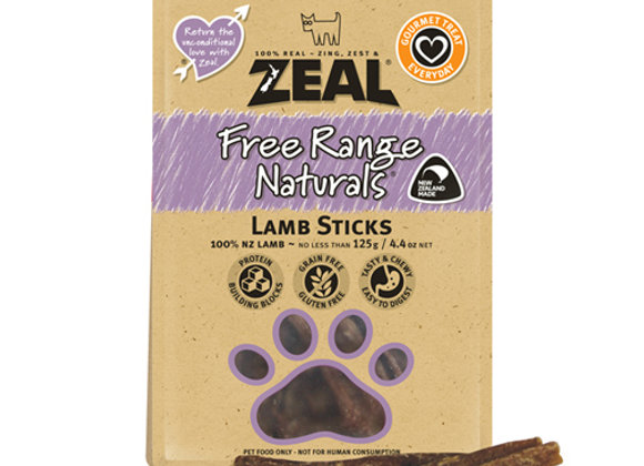 Zeal Dried Lamb Sticks