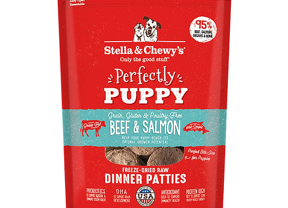 Stella & Chewy's Beef & Salmon Puppy Patties
