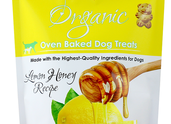 Grandma Lucy's Organic Oven Baked Honey Lemon Dog Treats