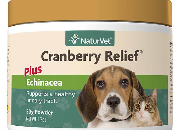 NaturVet Cranberry Relief® Powder Plus Echinacea - 1.7oz