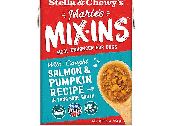 Stella & Chewy's Marie's Mix-Ins Salmon & Pumpkin Recipe