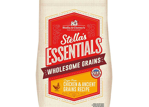 Stella & Chewy's Wholesome Grain Kibbles - Cage-Free Chicken & Ancient Grains