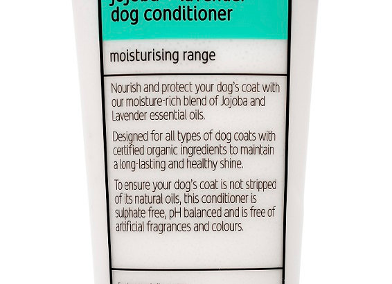 Fuzzyard Jojoba + Lavender, Moisturising Dog Conditioner 220Ml
