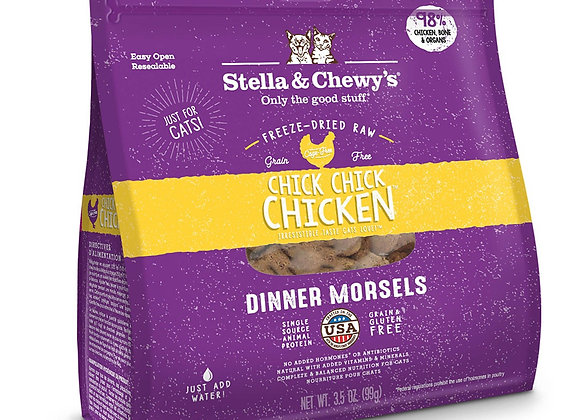 Stella & Chewy's - Chick, Chick Chicken Freeze-Dried Raw Dinner Morsels