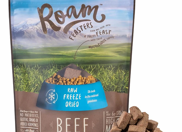 Roam Freeze Dried Raw Beef