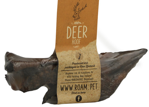Roam's Deer Hoof Dog Treat