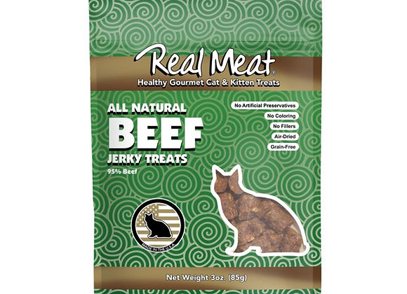 The Real Meat Beef Cat Treats