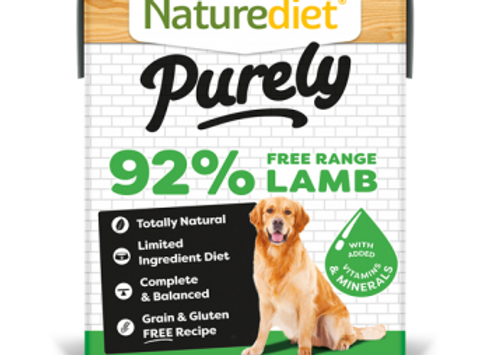 Naturediet Purely Dog Food - Lamb