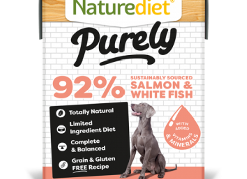 Naturediet Purely Dog Food - Salmon & White Fish