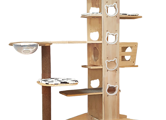 Luxypet Aaron 5 Cat Tower (Cozy)