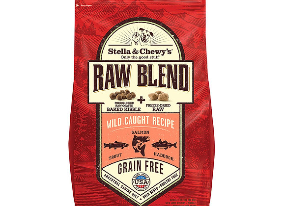 Stella & Chewy's Raw Blend -Wild Caught Salmon