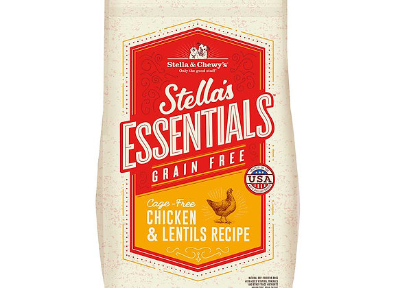 Stella & Chewy's Grain-Free Kibbles - Cage-Free Chicken & Lentils