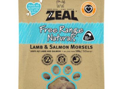 Zeal Lamb & Salmon Morsels