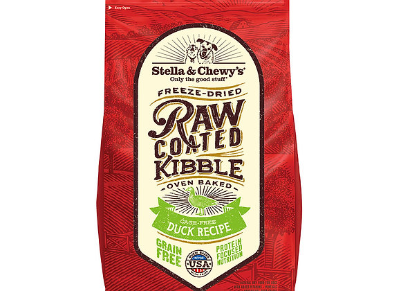 Stella & Chewy's Raw Coated Kibbles - Cage-Free Duck
