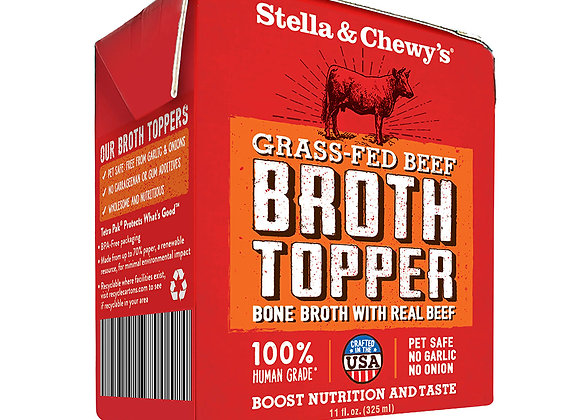 Stella & Chewy's Grass-Fed Beef Broth Topper