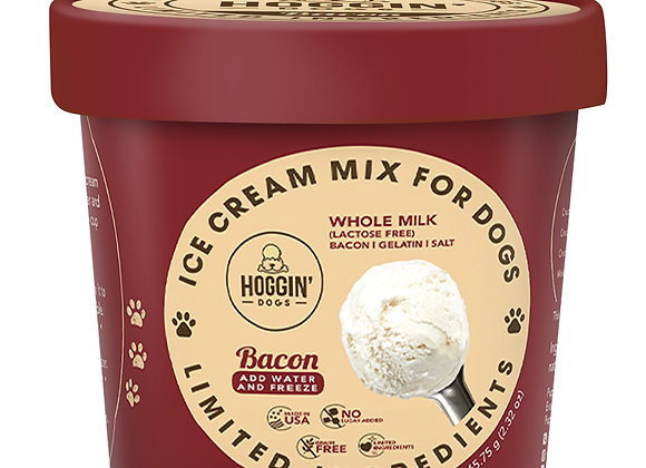 Hoggin' Dogs Ice Cream Mix - Bacon