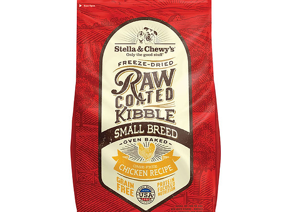 Stella & Chewy's Raw Coated Kibbles - Small Breed (Cage-Free Chicken)