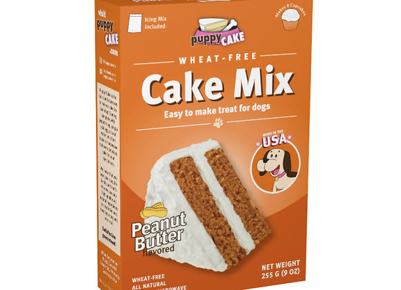 Puppy Cake Mix - Peanut Butter (wheat-free)