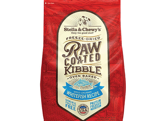 Stella & Chewy's Raw Coated Kibbles - Wild Caught Whitefish