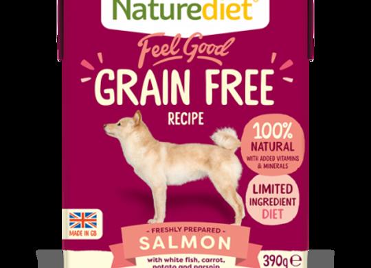 Naturediet Feel Good Grain Free Dog Food - Salmon