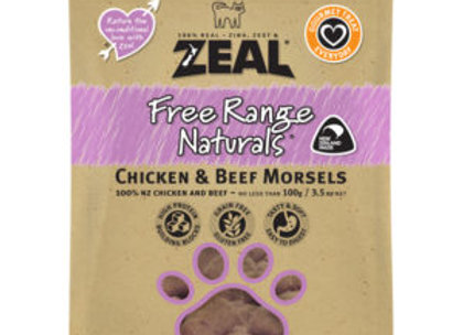 Zeal Chicken & Beef Morsels