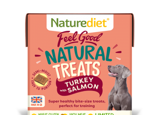 Naturediet Feel Good Natural Turkey With Salmon Treats