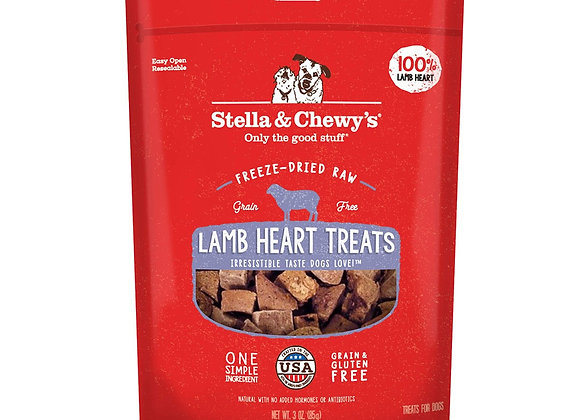 Stella & Chewy's Freeze-Dried Raw Lamb Heart Treats