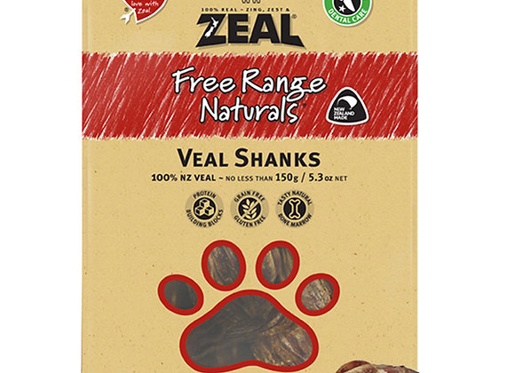 Zeal Dried Veal Shanks