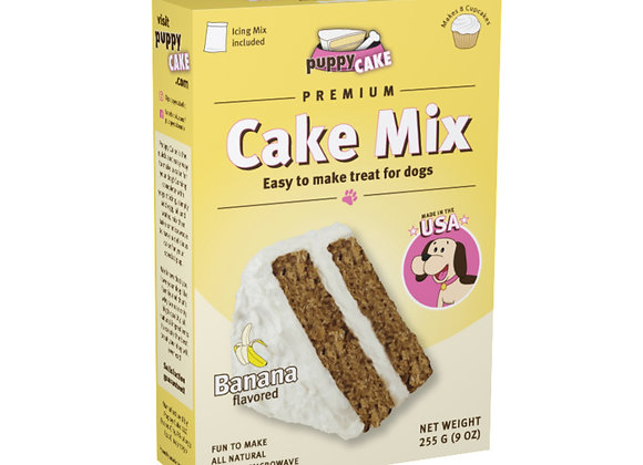 Puppy Cake Mix - Banana Flavored