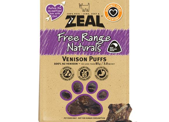 Zeal Dried Venison Puffs