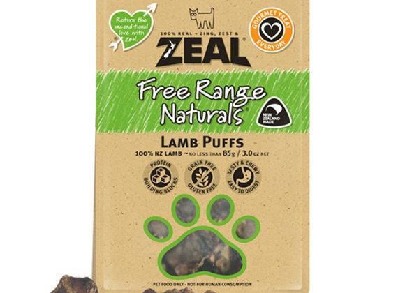 Zeal Dried Lamb Puffs