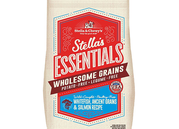 Stella & Chewy's Wholesome Grains - Whitefish, Ancient Grains and Salmon