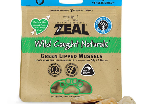 Zeal Green Lipped Mussels