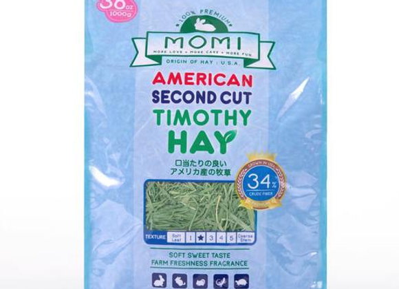 Momi Second Cut Timothy Hay
