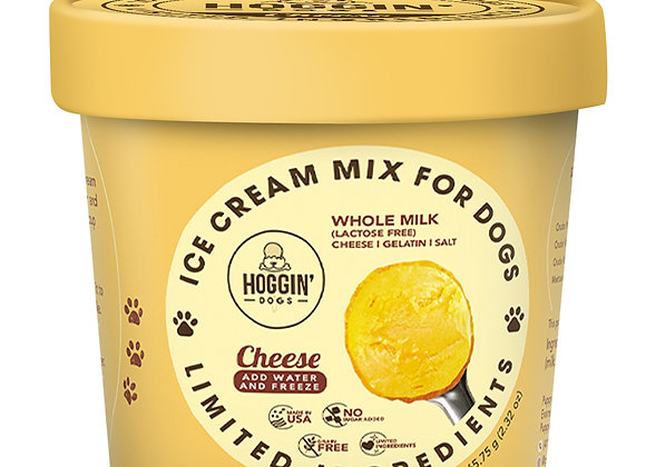 Hoggin' Dogs Ice Cream Mix - Cheese