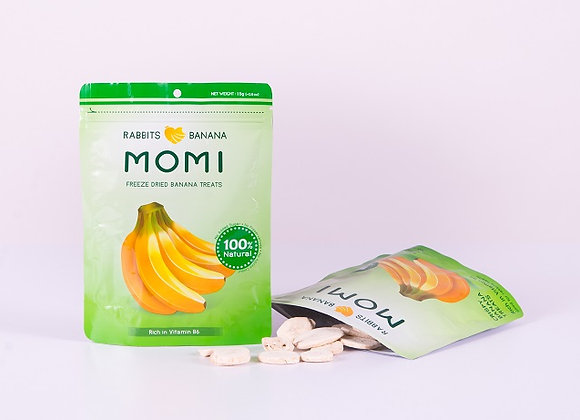 Momi Freeze Dried Banana Treats