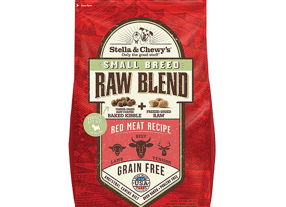 Stella & Chewy's Small Breed Red Meat Raw Blend Kibble