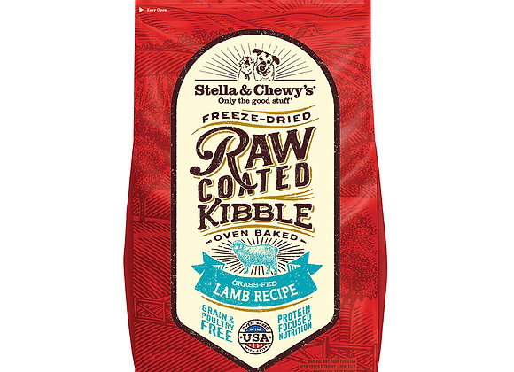 Stella & Chewy's Grass-Fed Lamb Raw Coated Kibble