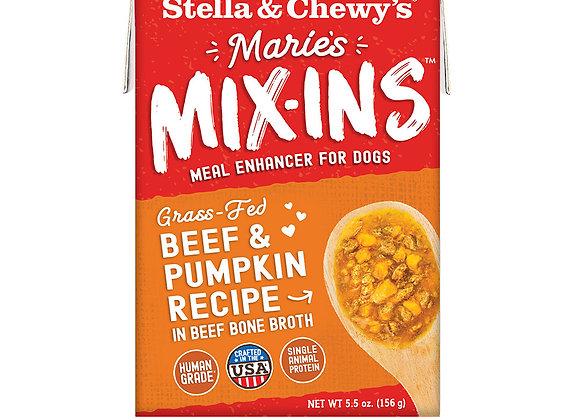 Stella & Chewy's Marie's Mix-Ins Beef & Pumpkin Recipe